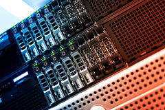 Free Network Servers Royalty Free Stock Photo - 65944495