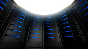 Network Servers in Circle (Loop) Stock Photos