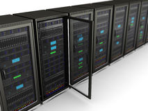 Network servers Stock Photos