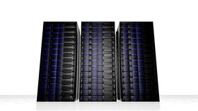 Network servers Stock Image