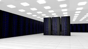 Network servers Stock Photography