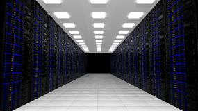 Network servers Stock Images