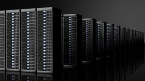 Network servers data center Stock Images
