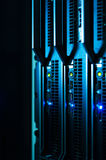Network servers in data room Stock Photos