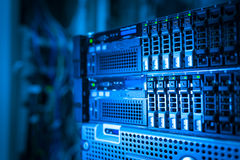 Network servers Royalty Free Stock Photo