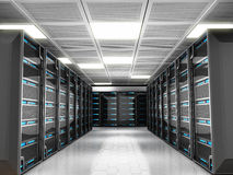 Network servers Royalty Free Stock Image