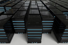 Network Servers World Royalty Free Stock Image