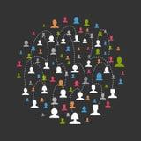 Network3 social Photographie stock libre de droits