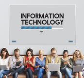 Network Software Upgrade Technology Concept Stock Image