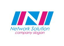 Network Solution Stock Photo