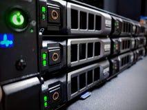 Network Storage Devices SAN Capacity stock photo