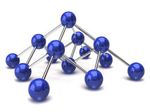 Network structure Royalty Free Stock Image