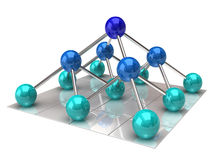 Network structure Stock Photos