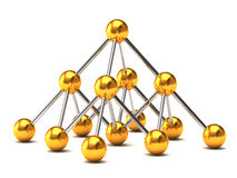 Network structure Stock Image