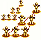 Network Structure Royalty Free Stock Photo