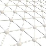 Network structure composition as abstract background Royalty Free Stock Images