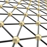 Network structure composition as background Stock Images