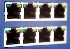 Network switch Royalty Free Stock Photos