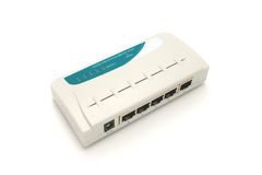 Network switch Royalty Free Stock Photo