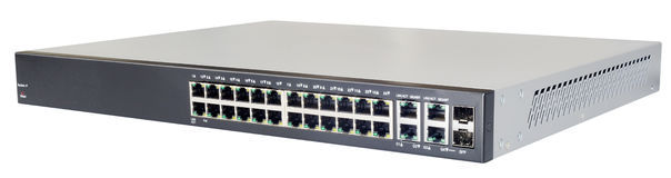 Network switch isolated Stock Photo