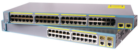 Network switches Royalty Free Stock Photos