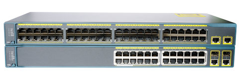 Network switches Stock Photography