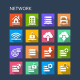 Network technology icon Royalty Free Stock Images