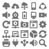 Network Technology Vector Icons 2 Stock Photography