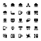 Network Technology Vector Icons 4 Royalty Free Stock Photography