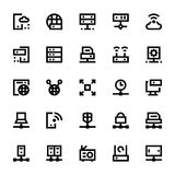 Network Technology Vector Icons 2 Royalty Free Stock Photo