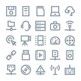 Network Technology Vector Icons 2. You can use this Network Technology Vector Icons set to manage a lot of information, around the world and interact with other Stock Photography