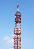 Network tower Royalty Free Stock Images