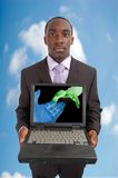 Network Wireless Cloud Royalty Free Stock Photography