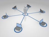 networked персона бесплатная иллюстрация