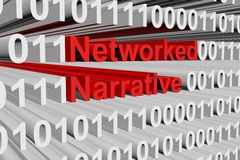Networked narrative Royalty Free Stock Photos