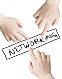 networking Zdjęcia Royalty Free