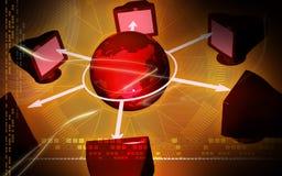 networking Obraz Stock