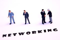 Free Networking Businessmen Royalty Free Stock Photo - 12359635