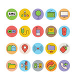 Networking and Communication Vector Icons 2 Stock Images
