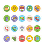 Networking and Communication Vector Icons 4 Stock Images