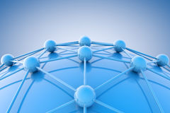 Networking concept Royalty Free Stock Image