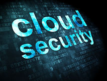 Networking concept: Cloud Security on digital background Stock Photo