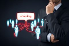 Networking concept stock images
