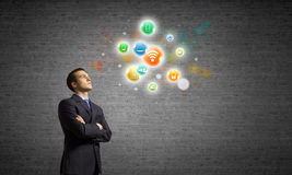 Networking concept Stock Image