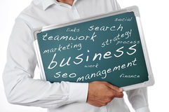 Networking concepts Stock Images