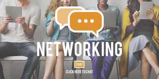 Networking Connection Global Communications Online Concept Stock Photography