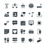 Networking Cool Vector Icons 1 Royalty Free Stock Photography