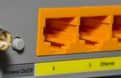 Networking devices ethernet, wlan, datacenter, router, switch ne. Twork Stock Photography