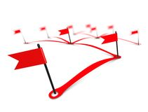 Networking flag Stock Photo