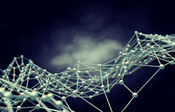 Networking i internetów Sieć concept Fotografia Royalty Free